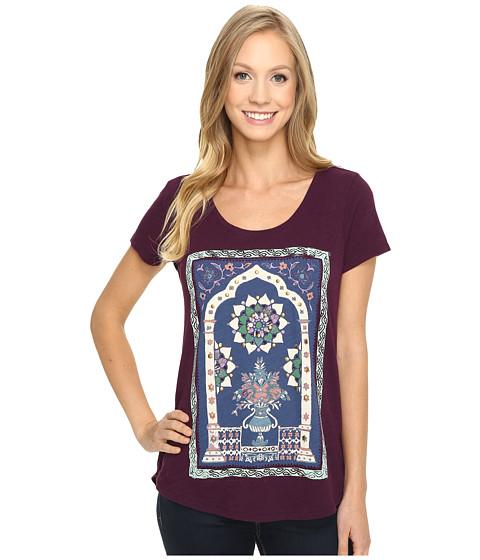 Imbracaminte Femei Lucky Brand Masaleum Tee Potent Purple