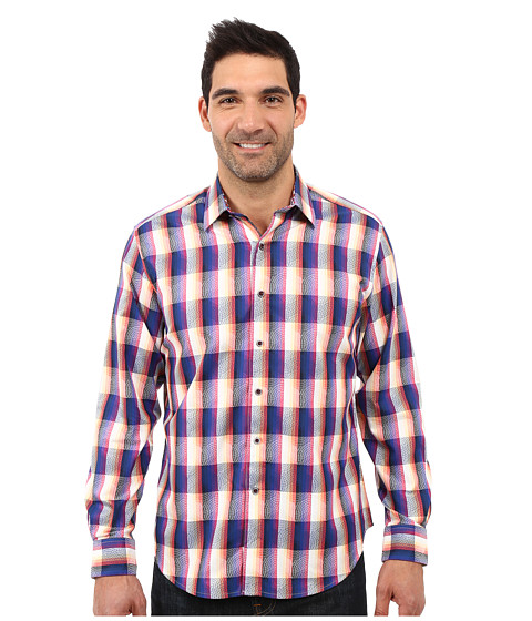 Imbracaminte Barbati Robert Graham The Jagger Long Sleeve Shirt Navy