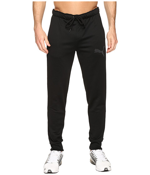 Imbracaminte Barbati PUMA P48 Core Tec Fleece Pants CL Cotton Black