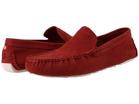 Incaltaminte Barbati UGG Henrick Perforated Matador Red Nubuck