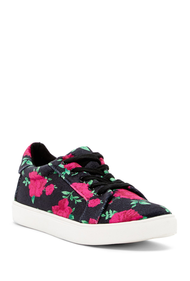 Incaltaminte Femei Betsey Johnson Bettie Sneaker RED-BLK