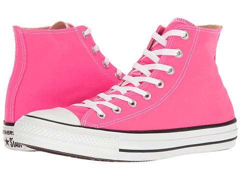 Incaltaminte Femei Converse Chuck Taylorreg All Starreg Seasonal Color Hi Pink Pow