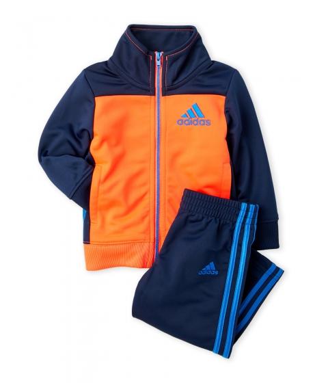 Imbracaminte Baieti adidas (Infant Boys) Two-Piece Qualify Color Block Tracksuit Red Orange