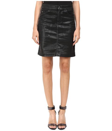 Imbracaminte Femei Just Cavalli Tinted Runway Denim Skirt Black