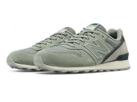Incaltaminte Femei New Balance 696 New Balance Silver with Pink Green