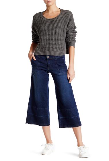Imbracaminte Femei Wild Pearl Wide Leg Cropped Jean DUSK BLUE 5