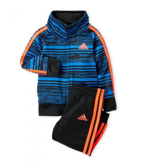 Imbracaminte Baieti adidas (Toddler Boys) Two-Piece Printed Jogging Suit Black