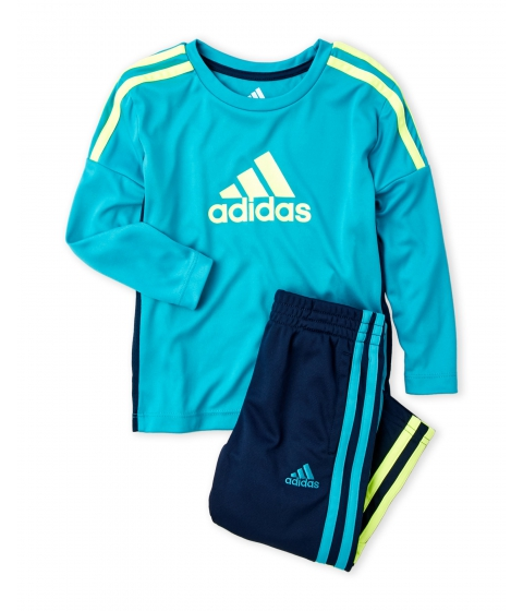 Imbracaminte Baieti adidas (Toddler Boys) Two-Piece Corner Kick Set Turquoise Aqua