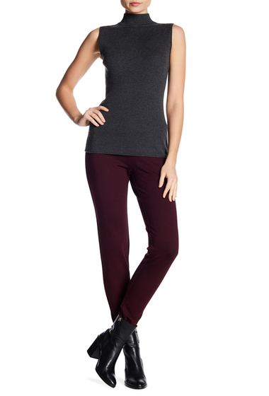 Imbracaminte Femei Insight Apparel Ponte Legging Pants WINE