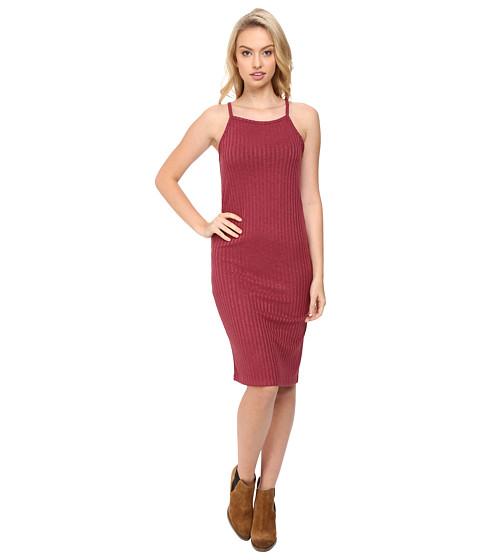 Imbracaminte Femei kensie Rayon Rib Dress KS8U7105 Crimson