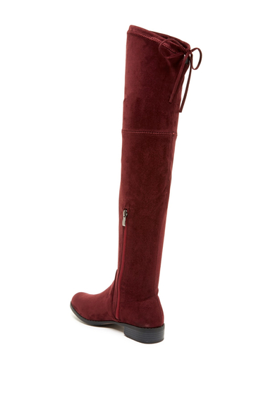 Incaltaminte Femei Catherine Catherine Malandrino Verona Over-the-Knee Boot BURGUNDY