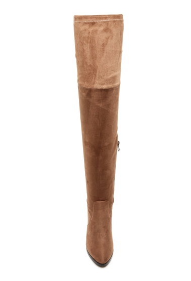 Incaltaminte Femei Catherine Catherine Malandrino Verda Over-the-Knee Boot TAUPE
