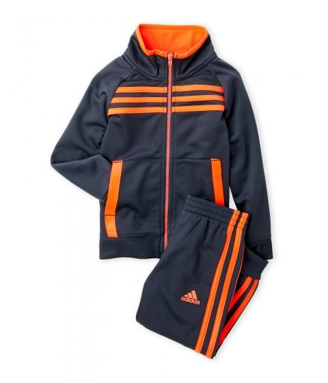 Imbracaminte Baieti adidas (Toddler Boys) Two-Piece Fullback Tracksuit Grey Orange