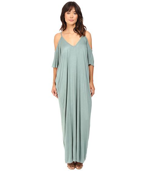 Imbracaminte Femei Culture Phit Khayla Cold Shoulder Maxi Dress Mossy Green