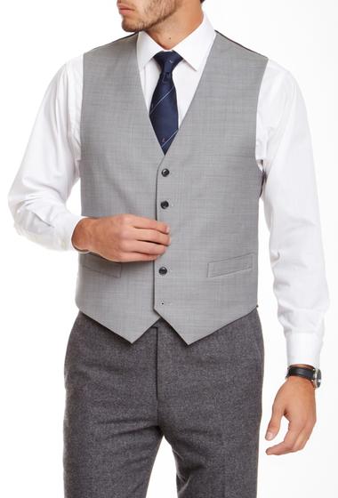 Imbracaminte Barbati Tommy Hilfiger Gray Sharkskin Wool Vest GRAY