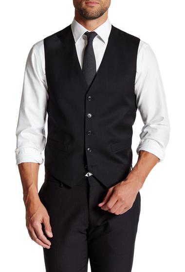 Imbracaminte Barbati Tommy Hilfiger Five Button Wool Vest BLACK