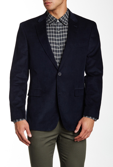 Imbracaminte Barbati Tommy Hilfiger Willow Two Button Notch Lapel Corduroy Sportcoat NAVY