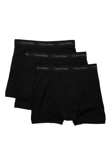 Imbracaminte Barbati Calvin Klein Boxer Brief - Pack of 3 BLACK