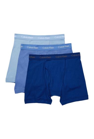 Imbracaminte Barbati Calvin Klein Boxer Brief - Pack of 3 1BLUE DEPT