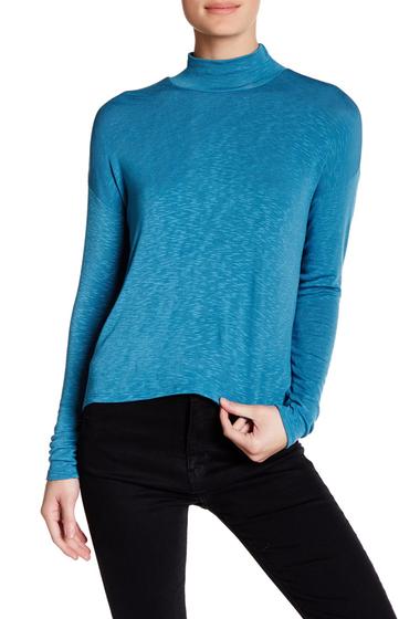 Imbracaminte Femei Abound Knit Surplice Blouse BLUE HEAVEN