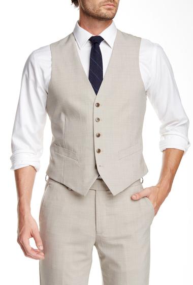 Imbracaminte Barbati Original Penguin Taupe Five Button Vest TNCHCK