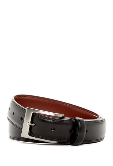 Accesorii Barbati Original Penguin Timothy Leather Belt BLACK