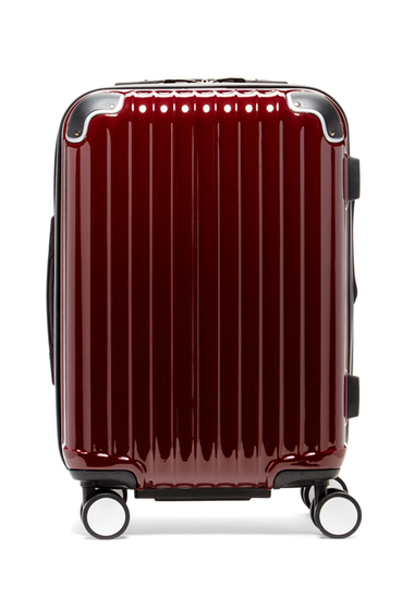 Femei Kenneth Cole New York First Impression 20 Expandable 8 Wheel Upright Suitcase BURGUNDY