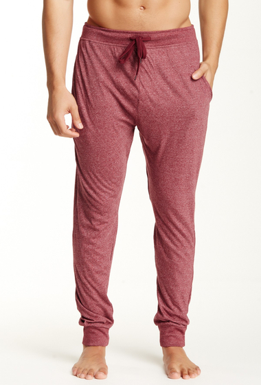 Imbracaminte Barbati Bottoms Out Tapered Knit Jogger BURGUNDY