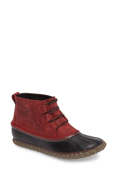 Incaltaminte Femei SOREL Out N About Waterproof Boot RED ELEMENT