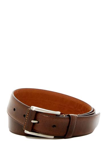 Accesorii Barbati Boconi Lennon Leather Belt BROWN