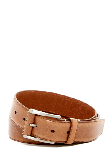 Accesorii Barbati Boconi Lennon Leather Belt TAN
