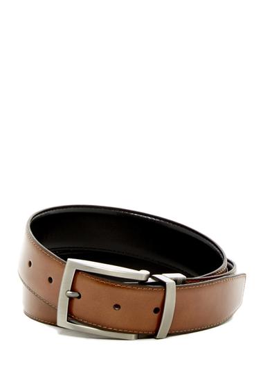 Accesorii Barbati Boconi McCartney Leather Belt REV-TAN-BLK