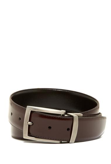Accesorii Barbati Boconi McCartney Leather Belt BURGUNDY-BLACK