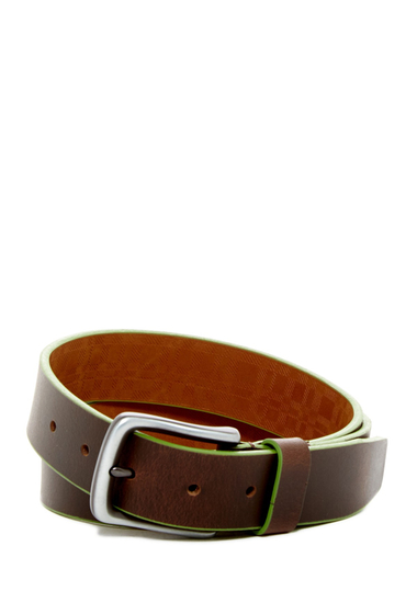 Accesorii Barbati Boconi Trim Leather Belt BROWN