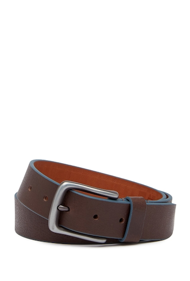 Accesorii Barbati Boconi Trim Leather Belt BROWN BLUE