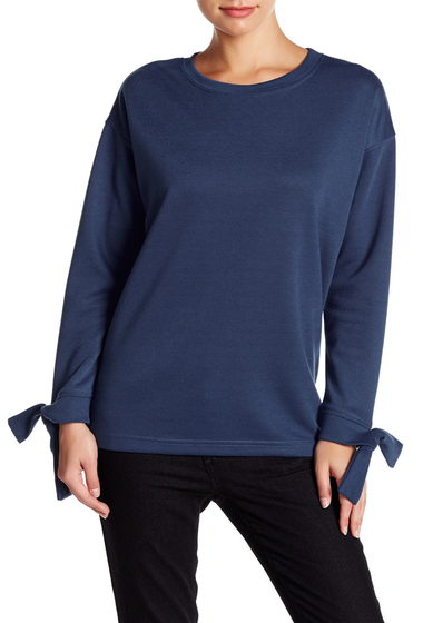 Imbracaminte Femei Very J Long Sleeve Blouse with Side Vents TEAL