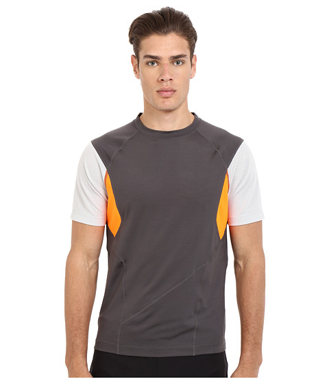 Imbracaminte Barbati Spyder Strabo Short Sleeve Shirt PolarCirrusBright Orange