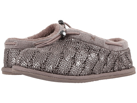 Incaltaminte Fete UGG Freesia Cable Knit (Little KidBig Kid) Stormy Grey