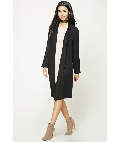 Imbracaminte Femei Forever21 Belted Trench Coat Black