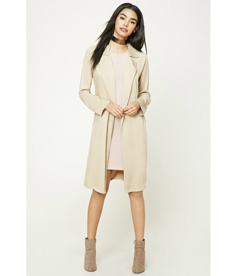 Imbracaminte Femei Forever21 Belted Trench Coat Tan