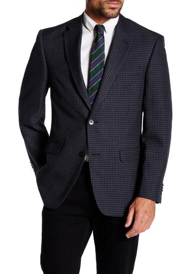 Imbracaminte Barbati Tommy Hilfiger Ethan Gray Shepherds Check Two Button Notch Lapel Jacket GREY