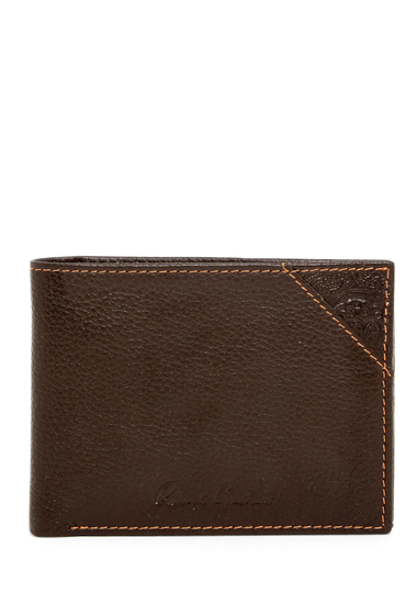 Accesorii Barbati Robert Graham Pledge Leather Bifold Wallet BROWN