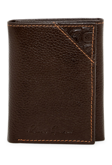 Accesorii Barbati Robert Graham Kent Leather Trifold Wallet BROWN