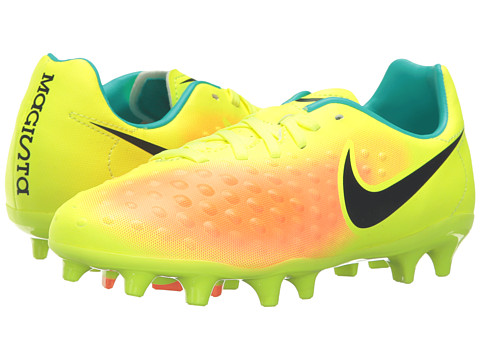 Incaltaminte Fete Nike Jr Magista Opus II FG Soccer (ToddlerLittle KidBig Kid) VoltTotal OrangeClear JadeBlack