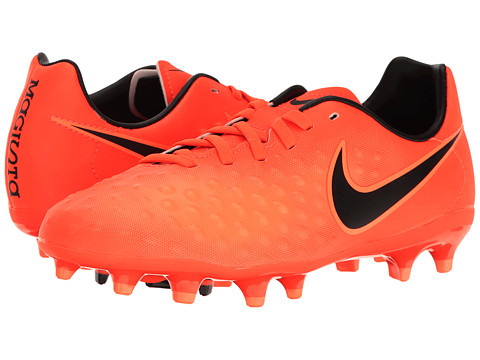 Incaltaminte Fete Nike Jr Magista Opus II FG Soccer (ToddlerLittle KidBig Kid) Total CrimsonBlackBright Mango