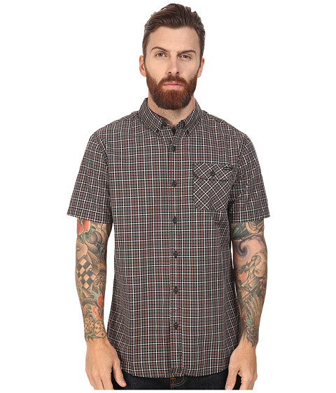 Imbracaminte Barbati ONeill Emporium Check Short Sleeve Top Rust