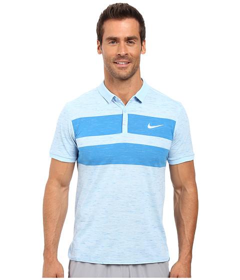 Imbracaminte Barbati Nike Court Dry Advantage Tennis Polo BluecapWhite
