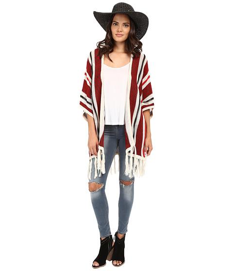 Imbracaminte Femei BB Dakota Dobrin Acrylic Beach Stripe Fringe Cardigan Multi