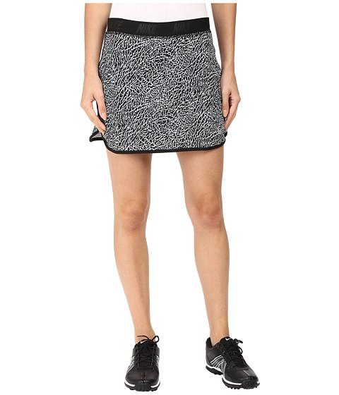 Imbracaminte Femei Nike Golf Flip Skort Print WhiteBlackMetallic Silver