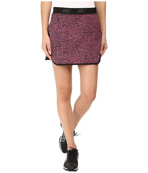 Imbracaminte Femei Nike Golf Flip Skort Print Dynamic PinkBlackMetallic Silver